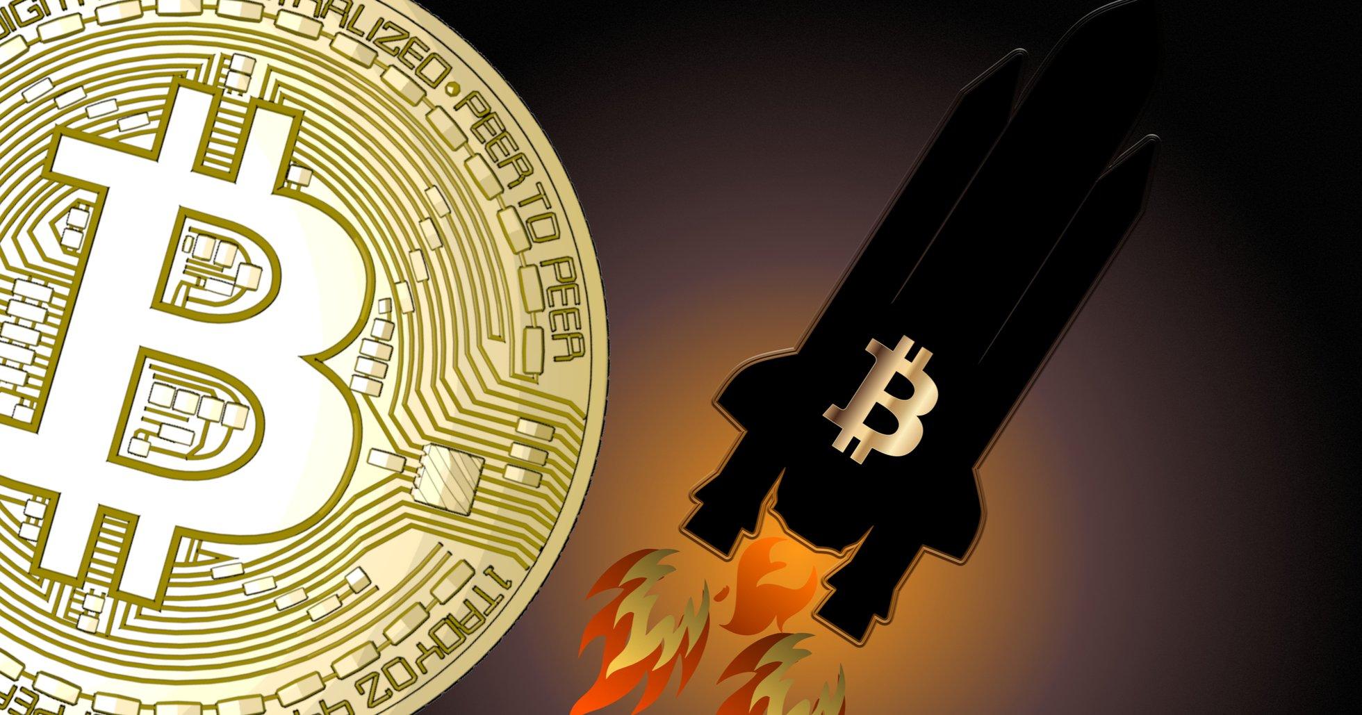Bitcoinpriset över 7 000 dollar igen.
