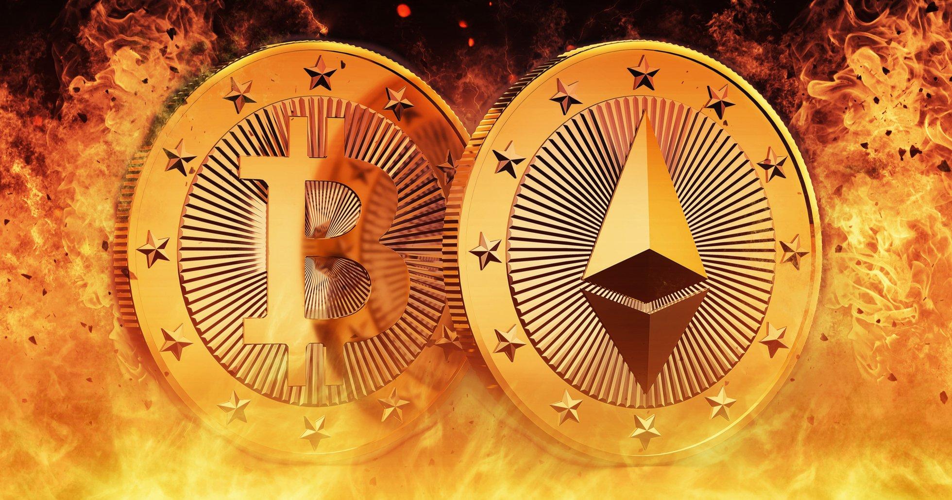 Ethereum går om bitcoin som den mest använda blockkedjan.