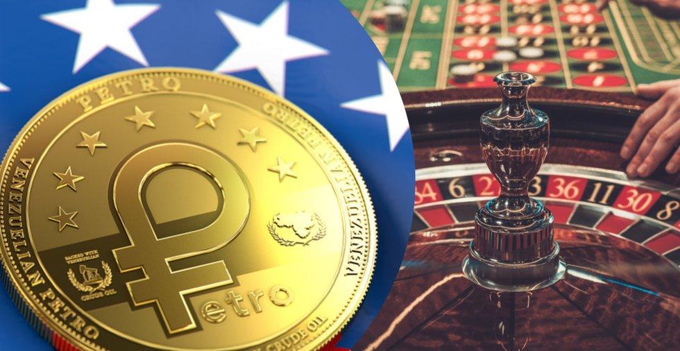 Venezuelas nya kryptoplan: Öppnar kasino som använder sig av petro