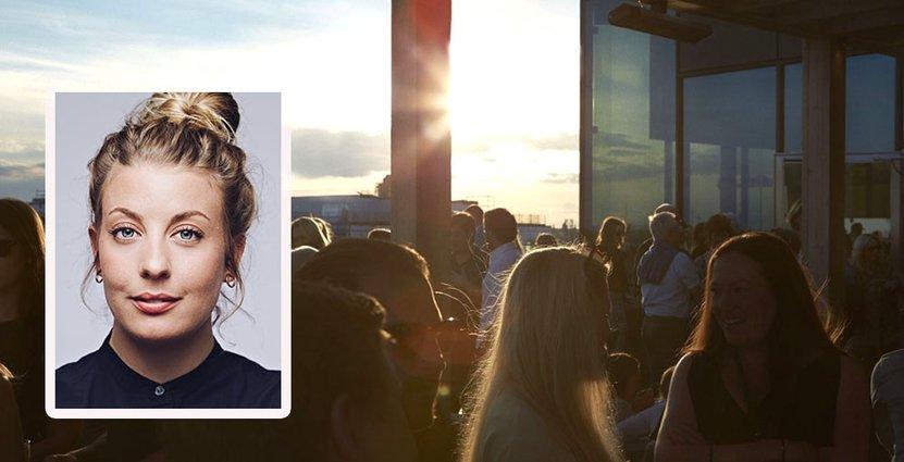 I maj, lagom till att takterrassen öppnar, lanserar Frida Ronge och Tak<br />  ett nytt street food-koncept. Foto: Tak