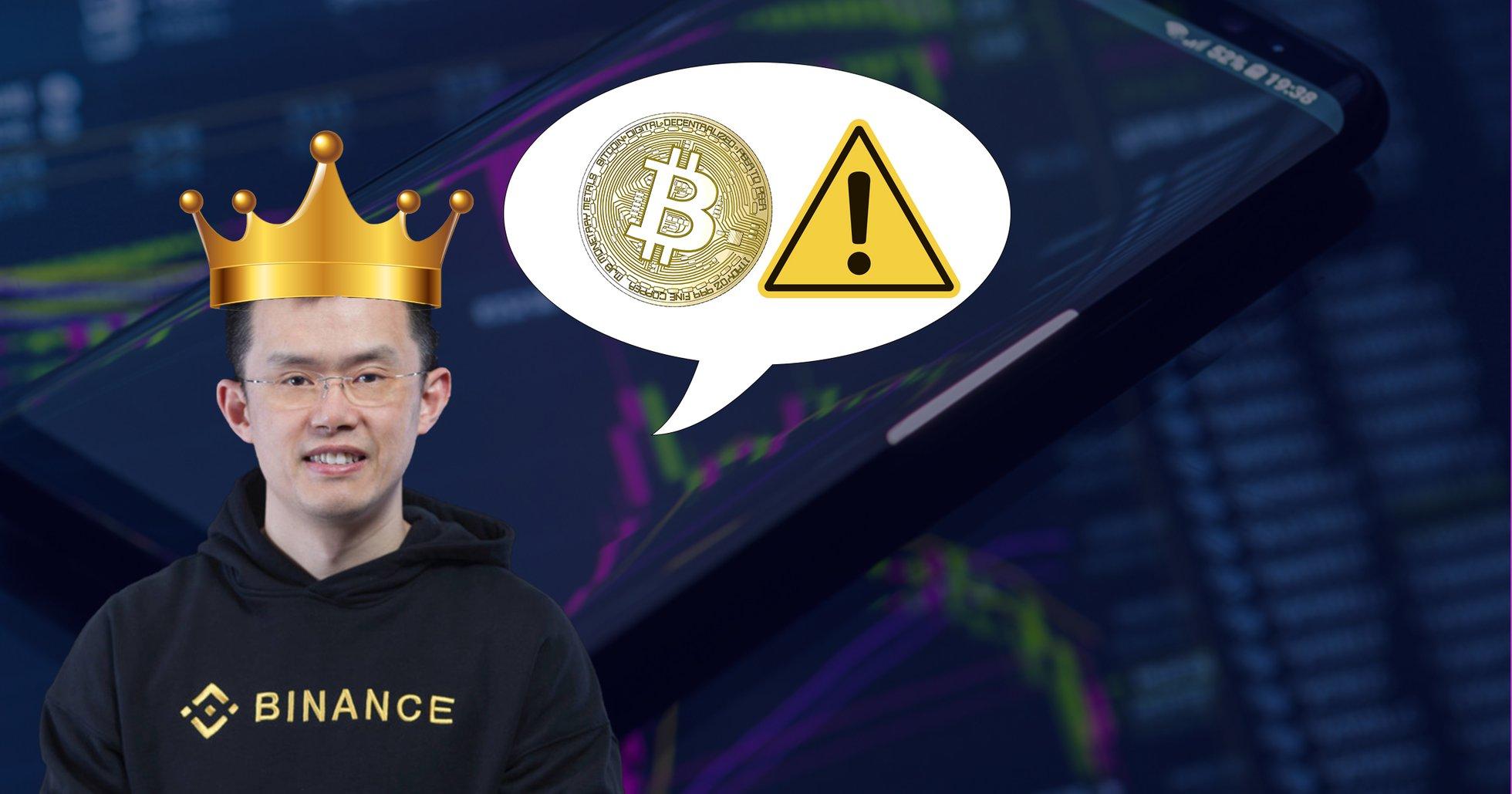 Kryptokungens varning: Bitcoin-priset kan bli ännu mer volatilt