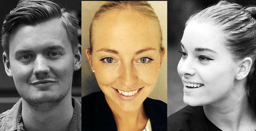 Finalister: Gustaf Sjövall, Tess Humble Dillner och Pauline Ljungberg.