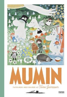 – Här är de nya Muminböckerna som ges ut i vår