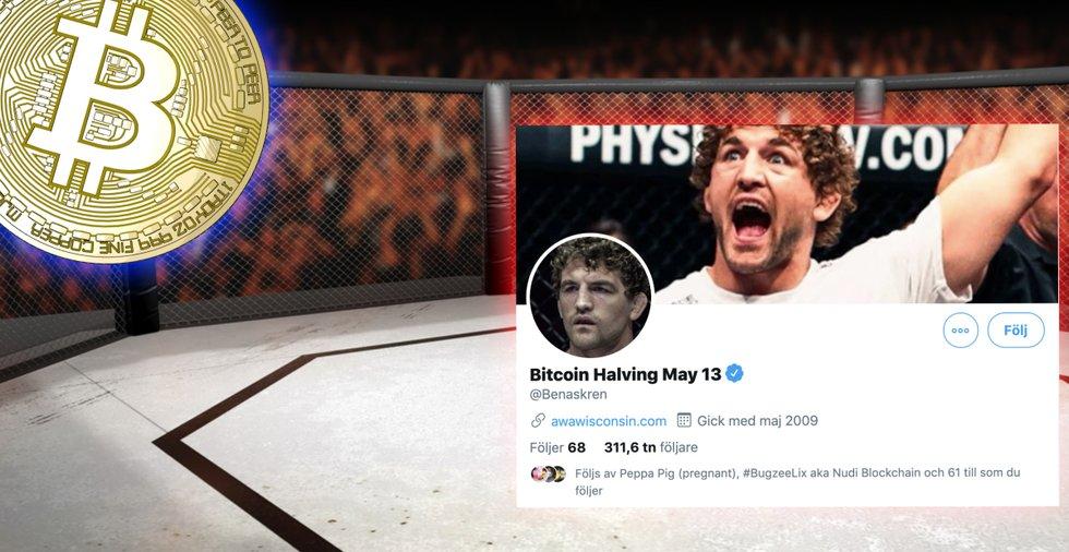 Före detta UFC-stjärna byter Twitter-namn för att uppmärksamma bitcoins halvering