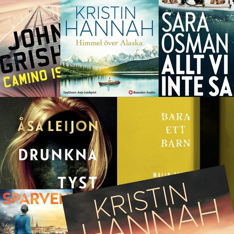 Ljudböcker inlästa av Anja Lundqvist