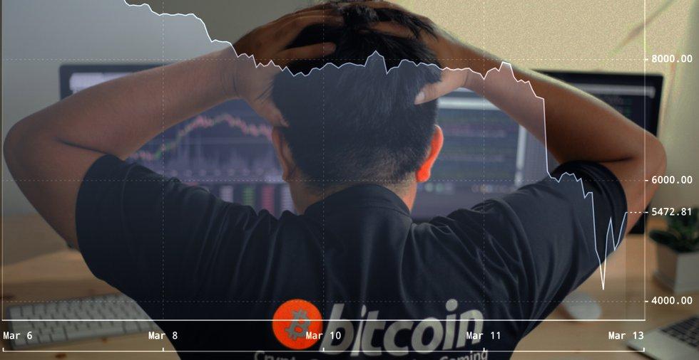 Expert efter bitcoins mardrömsdygn: Priset kan sjunka under 1 000 dollar