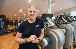 Han ska träna upp Selma Spas fitnessavdelning