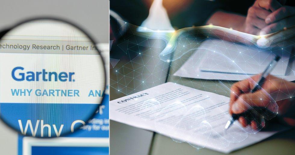 Ny studie: Smarta kontrakt kan förbättra företags datakvalité med 50 procent 2023