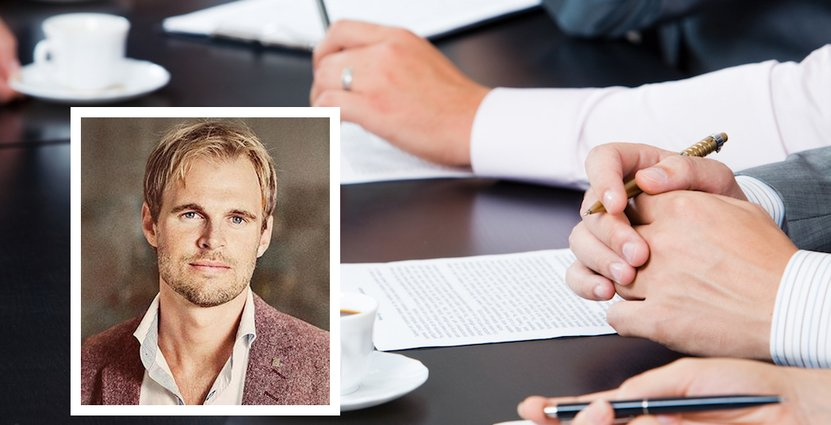 Pontus Esbo är försäljningschef på Svenska Möten. Foto: Colourbox/Svenska Möten