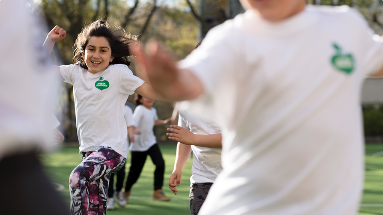 Fysiska aktiviteter för barn på fritiden