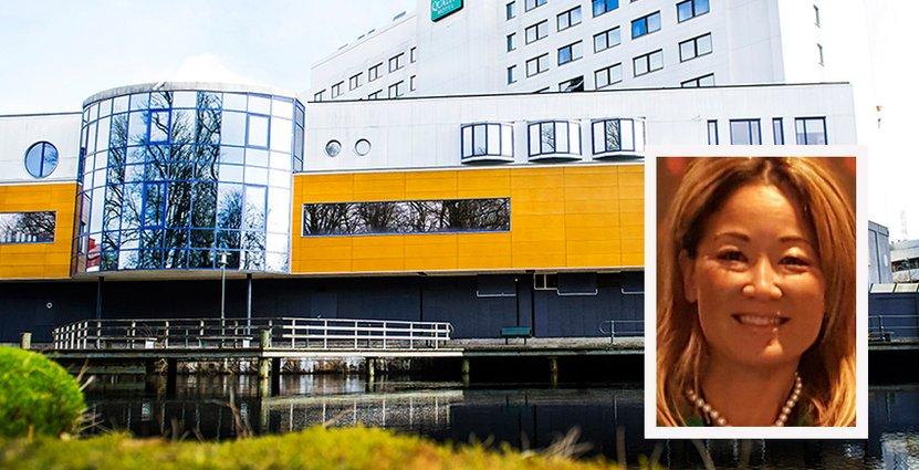 Quality Hotel Grand i Borås har varit fullbokat sedan ett halvår tillbaka. vd Maria Jansson gör alltför att maxa antal rum.