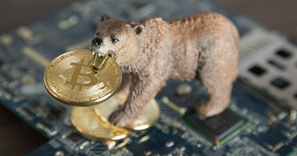 Bitcoin just lost $465 – in less than one hour