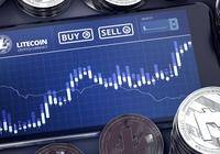 Litecoin rusar över 8 procent medan andra kryptovalutor blöder