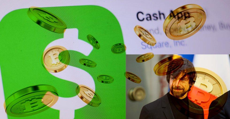 Kvartalsrapport visar: Hälften av jätteappen Cash Apps omsättning kommer från bitcoin