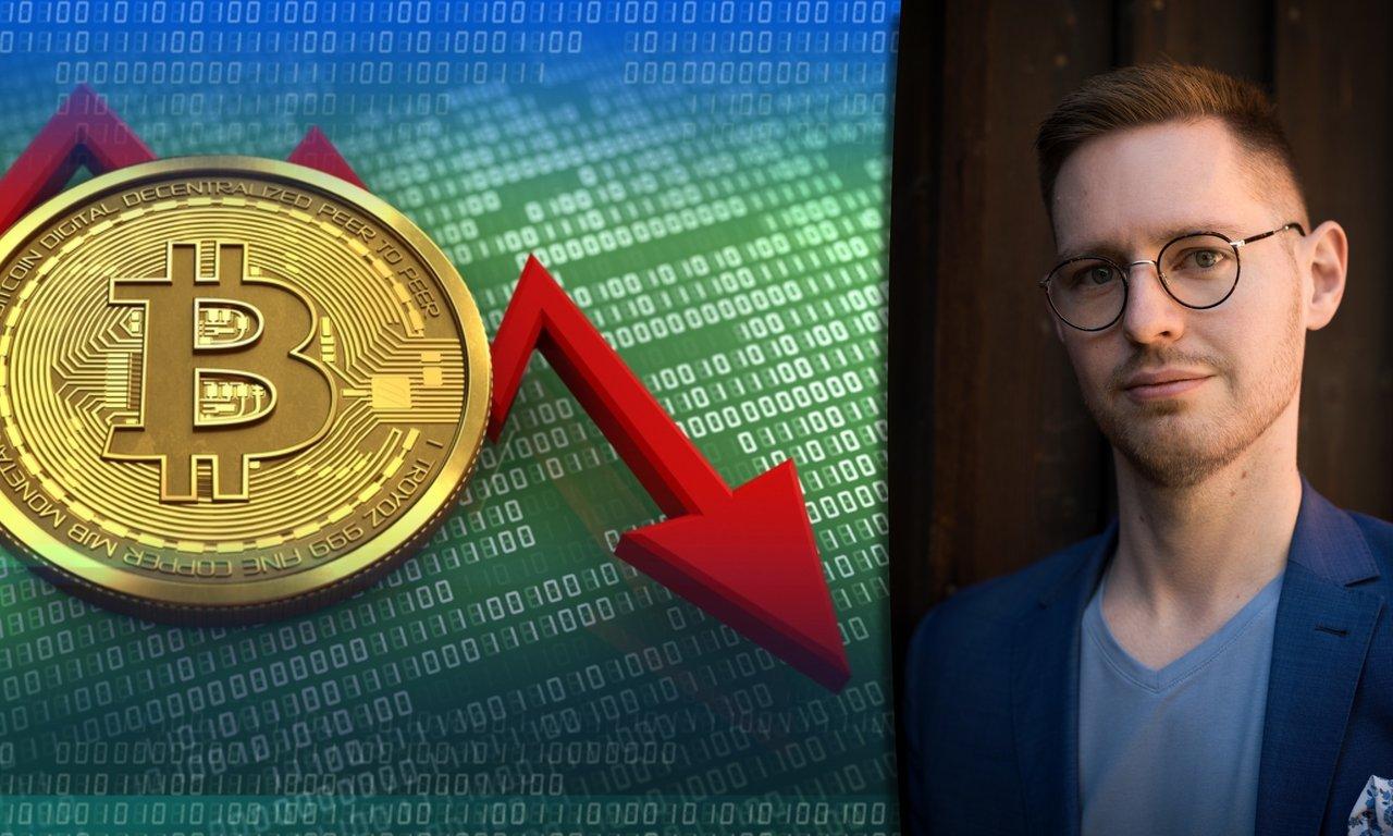 Expert när bitcoinpriset sjunker med över 1 000 dollar: