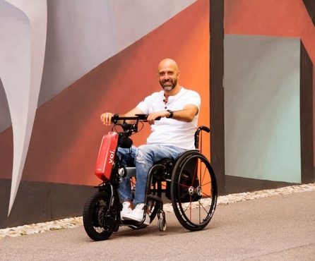 Voi teams up with Klaxon Mobility to democratise transportation, bringing shared micro-mobility to wheelchair users
