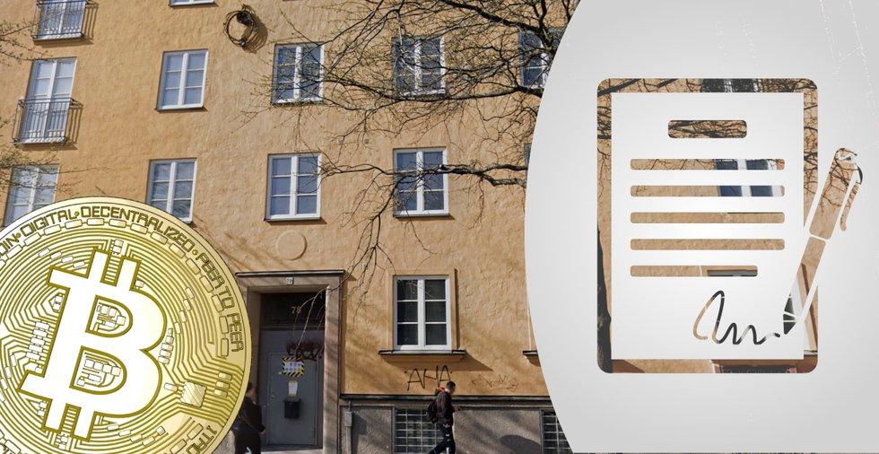Vd för stor svensk mediekoncern köpte svart hyreskontrakt – betalade med bitcoin