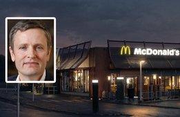 McDonalds vill göra skillnad med sin storlek