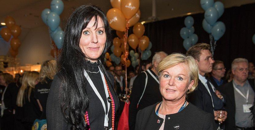 Heléne Magnusson och Marie Larsson, projektledare på Örebrokompaniet.