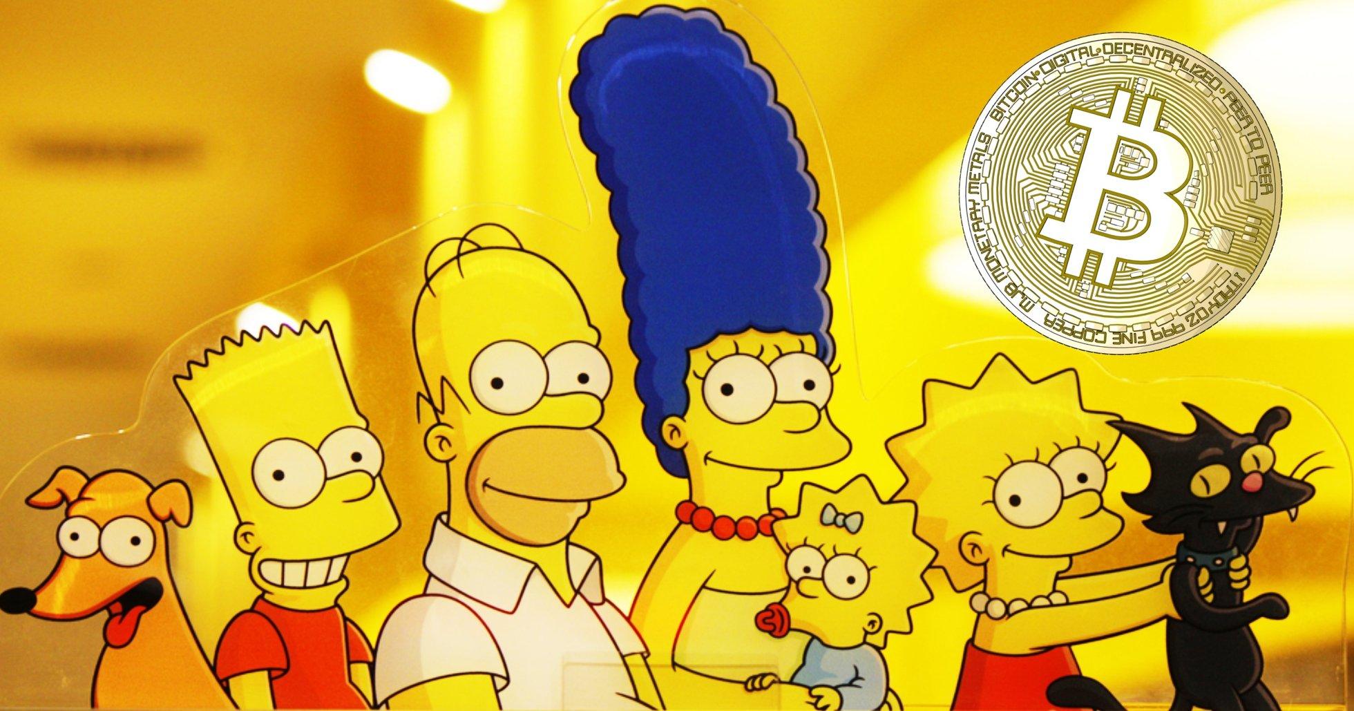 Senaste avsnittet av The Simpsons handlar om kryptovalutor: