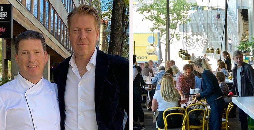 Maten i nya restaurangen får fransk prägel. På bild Pocket by Pontus i Arenastaden.  Foto: Pressbild
