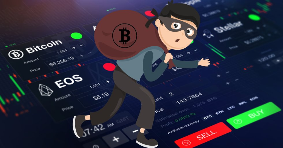 Gang of masked thieves broke into a crypto exchange