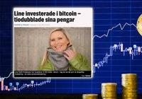 Line, 48, köpte bitcoin 2017 – har sett sin investering öka med 1 500 procent