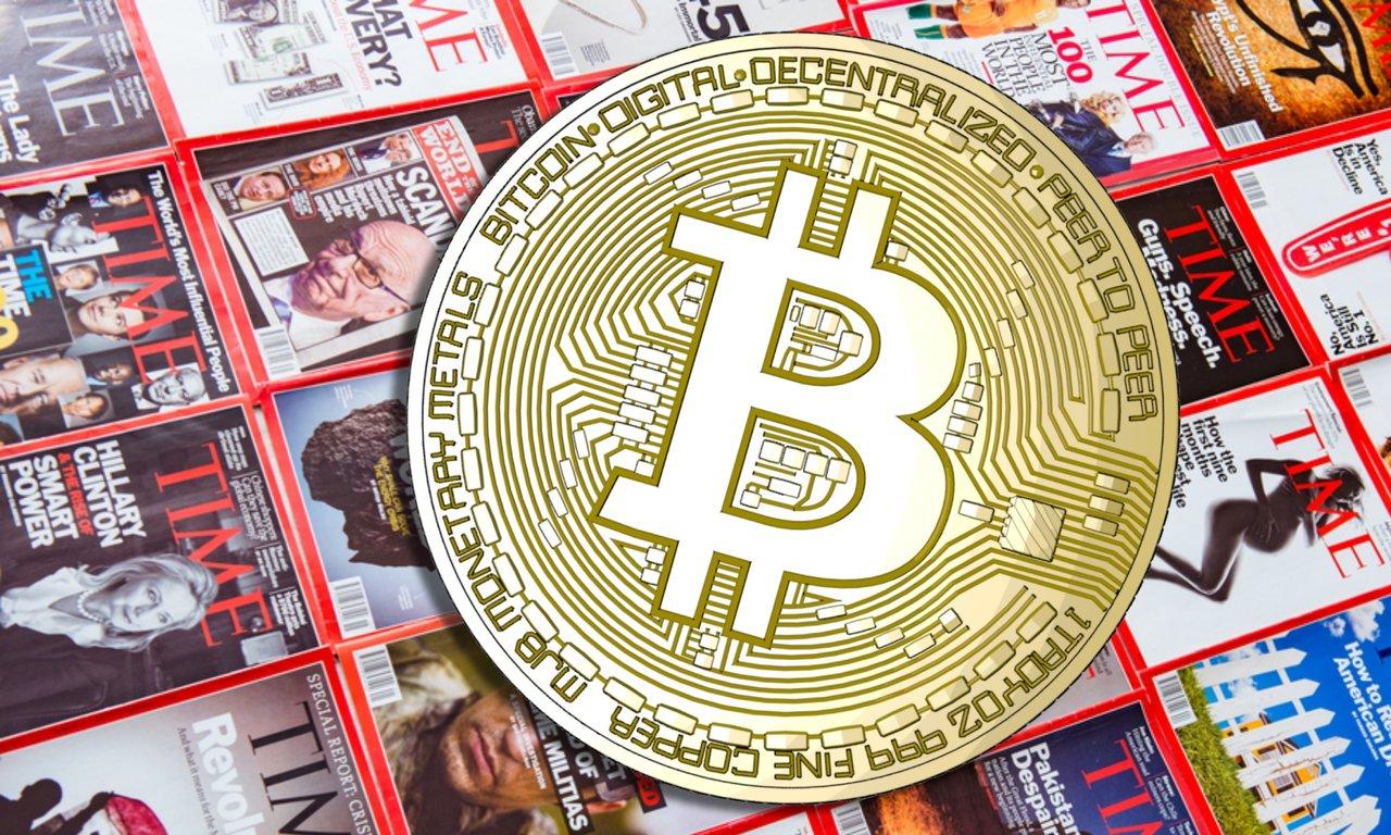 Time Magazine tar betalt i bitcoin för samarbete med kryptoföretag