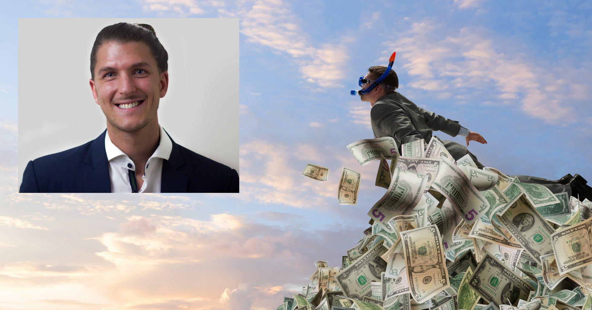Dennis Sahlström: Det skapas flest miljonärer under kriser – så här ska du tänka.