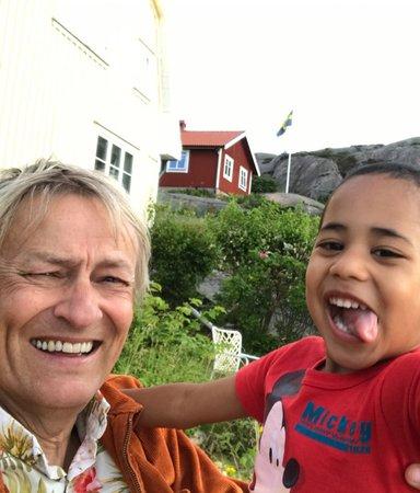 Konstnären Lars Lerin skrev sin första barnbok om sonen Rafael