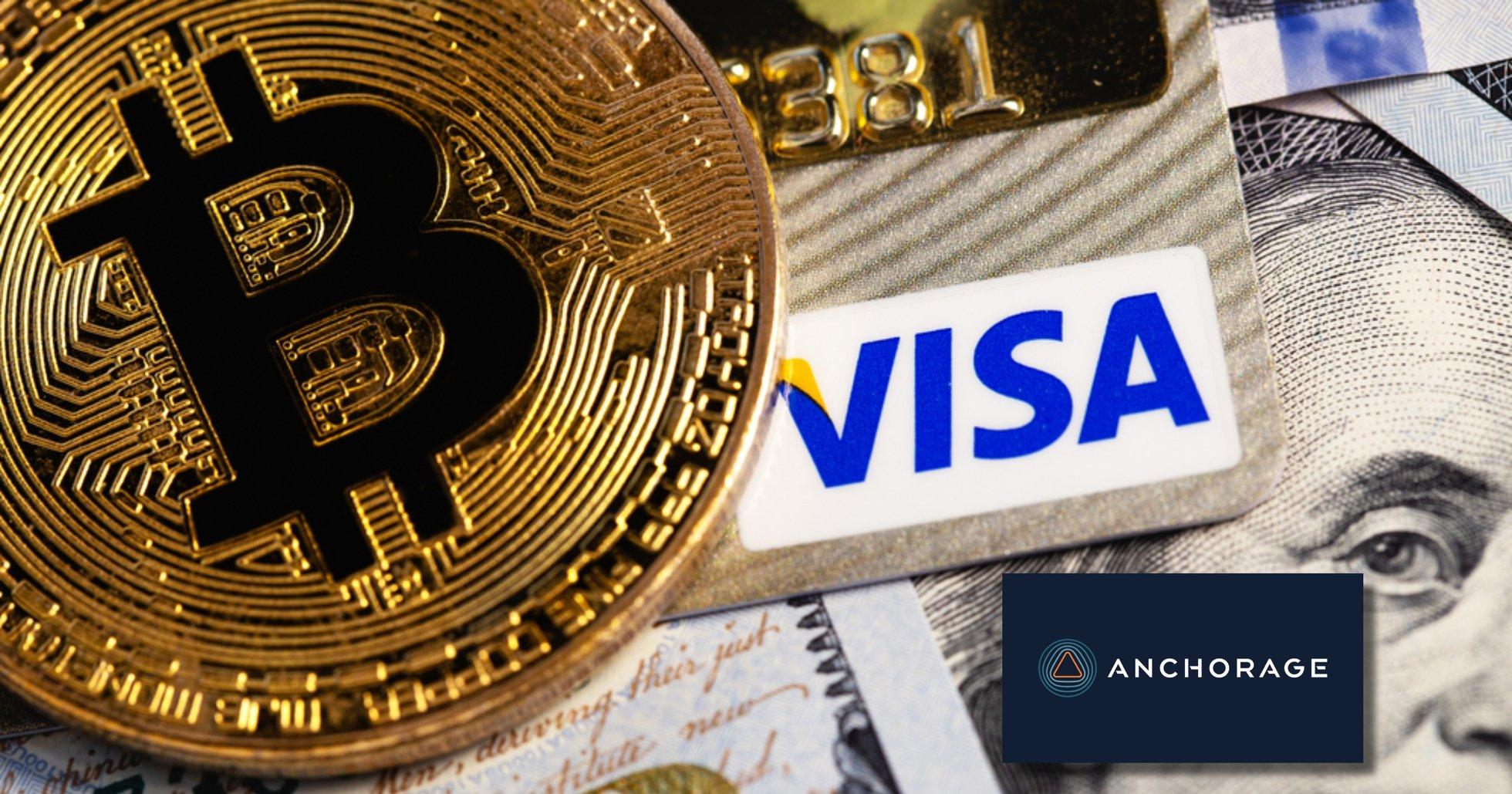 Visa pilottestar tjänst som låter banker erbjuda sina kunder kryptohandel