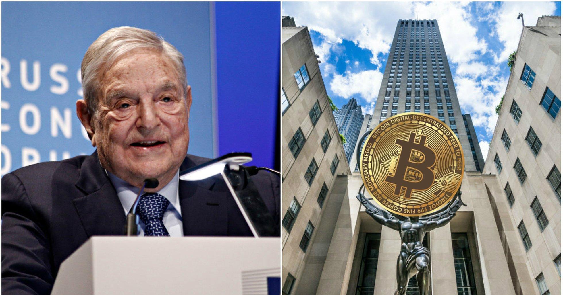 George Soros Rockefeller cryptocurrencies.
