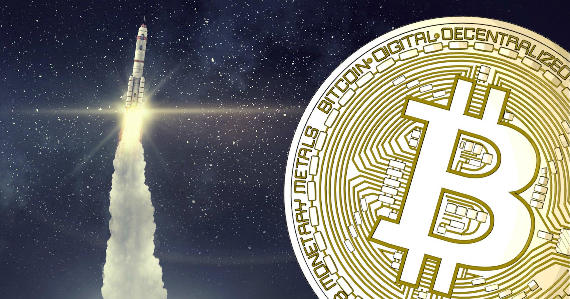 Bitcoinplånbok har skjutits upp i rymden – ska göra transaktioner säkrare för större kunder