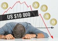 Bitcoin kämpar kring 10 000-dollarstrecket – analytiker varnar för en prisdump likt den 2018