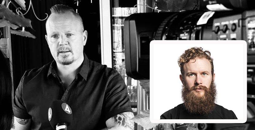 Bartendern Emil Åreng och krögaren Jörgen Engdahl satsar stort i Umeå. Foto: Privat