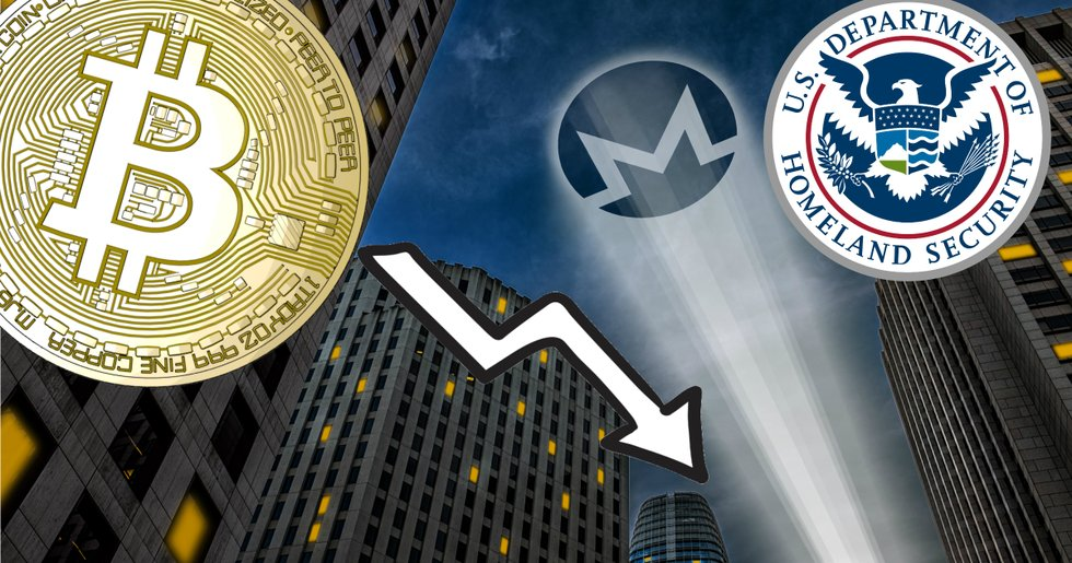 Daily crypto: Lower prices and U.S. authorities want to track monero.
