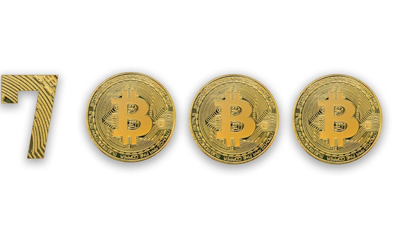 Bitcoinpriset över 17 000 dollar.
