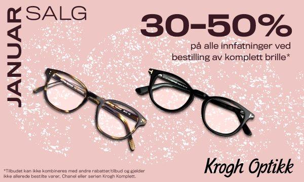 Januarsalg hos Krogh Optikk