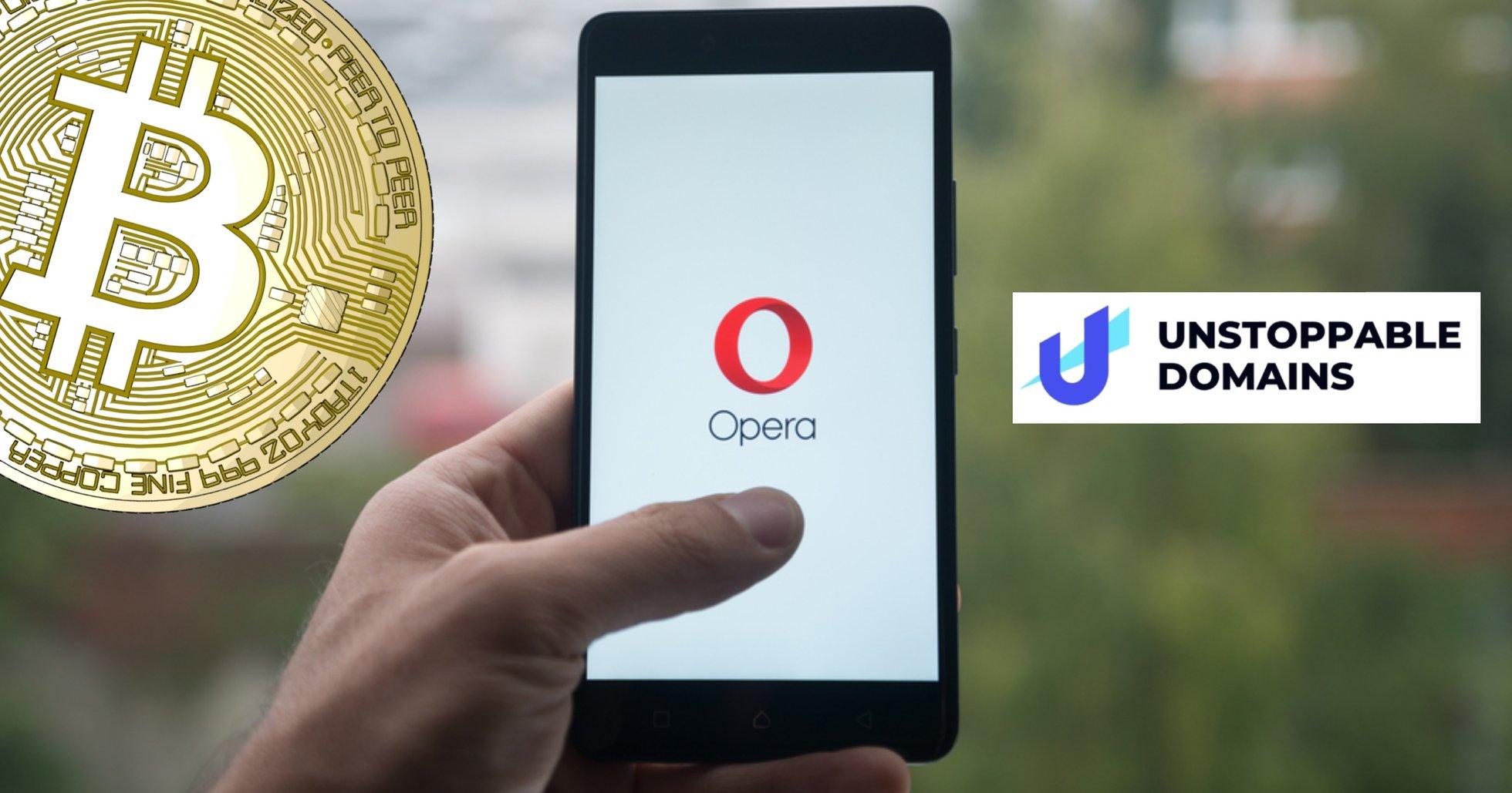 Webbläsaren Opera inleder samarbete med kryptoföretag – ska tillåta p2p-adresser