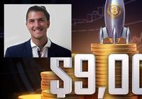 Teknisk analys: Bitcoin rusar förbi 9 000 dollar – det här kan du förvänta dig nu