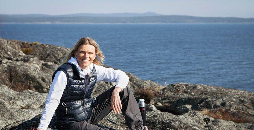 En av Mia Karlssons styrkor är att hon<br />  är bra på att entusiasmera personer. Foto: Höga Kusten Destinationsutveckling