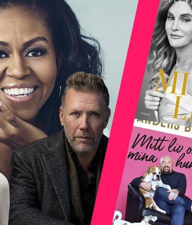 14 omtalade, omskakande och avslöjande kändis-biografier