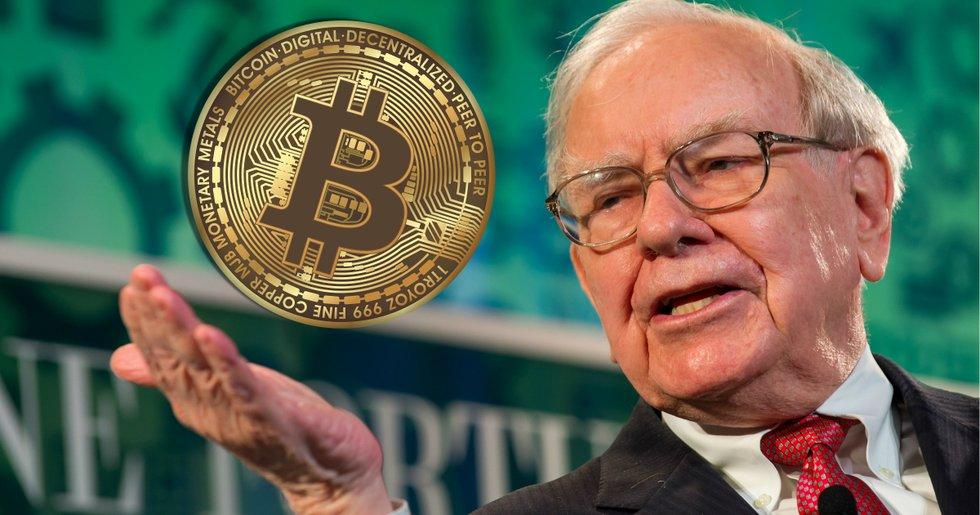 Warren Buffet, vd för Berkshire Hathaway.