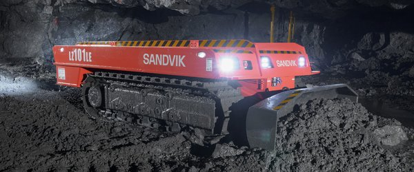 Sandvik launches battery-powered dozer