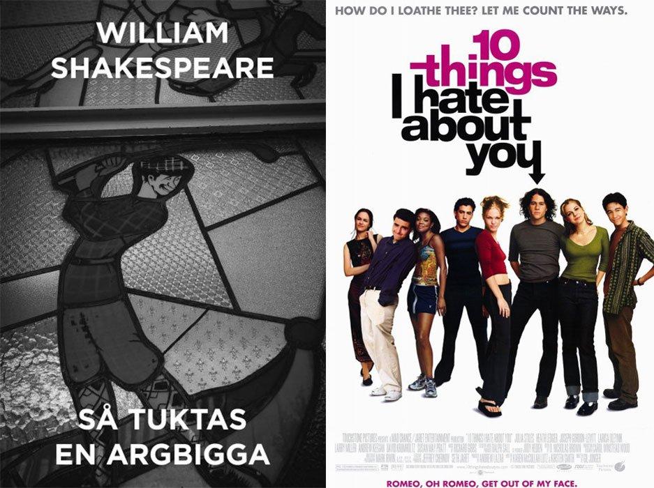 Klassikerna som du inte visste inspirerade tonårsfilmerna