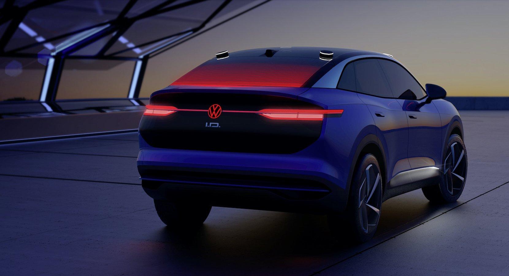 Volkswagen concept car ID. CROZZ