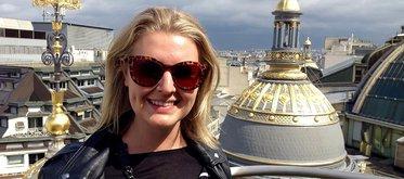 Under terminen på Sorbonne läser Sara åtta kurser parallellt, med sex timmars föreläsningar per dag