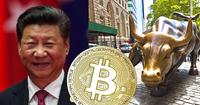 Bitcoins monsterdygn: Är upp 25 procent i värde efter utspel från Kinas president