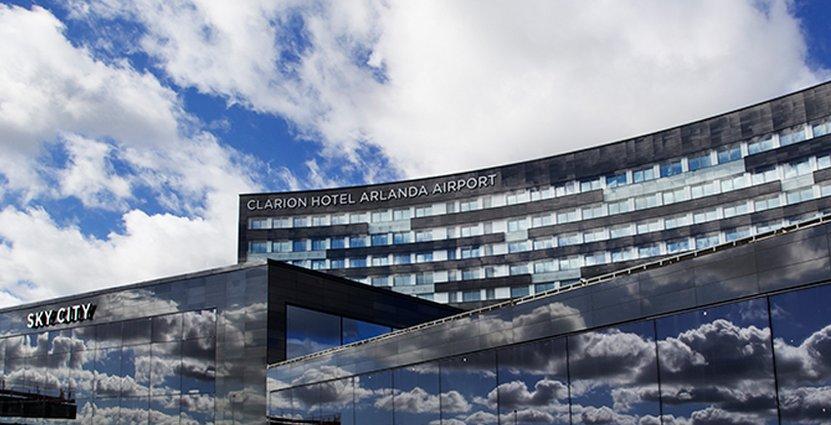 Ett ställe där affärsresenärer vill vara. Nu prisas Clarion Hotel Arlanda.
