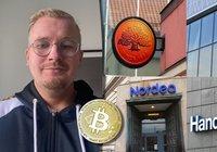 Lasse, 30, handlade med bitcoin – blev avstängd från samtliga svenska banker
